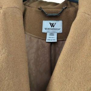 Worthington Camel Colored Wool Coat